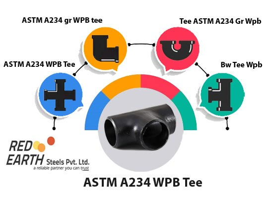 A234 WPB Tee Manufacturer in India
