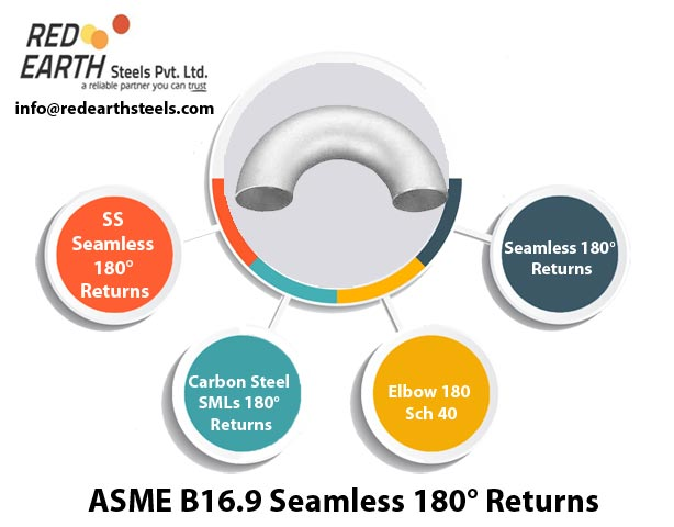 ASME B 16.9 Seamless Buttweld 180° Returns