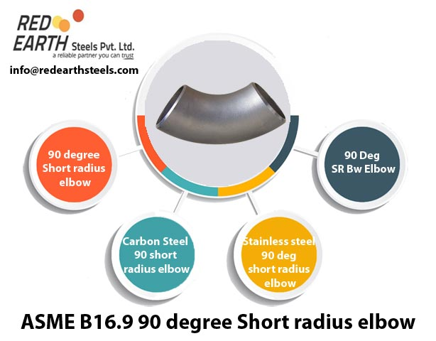 ASME B 16.9 Buttweld 90° Short Radius Elbow