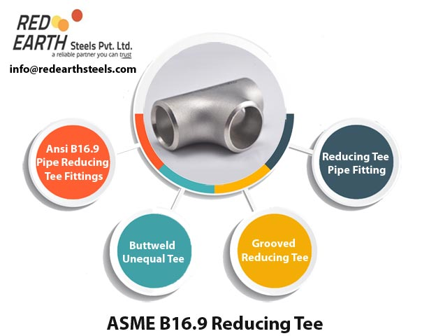 ASME B 16.9 Buttweld Reducing Tee