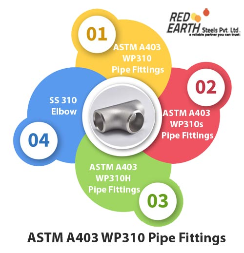ASTM A403 WP310 Buttweld Pipe Fittings