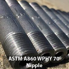 ASTM A860 Grade WPHY 70 Nipple (Barrel)