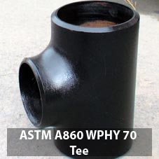 ASTM A860 WPHY 70 welding reducing tee