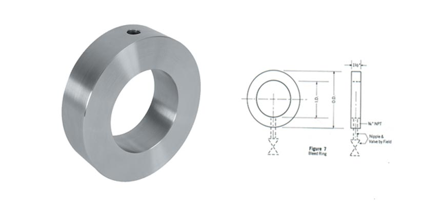 Bleed Ring Flange Dimensions