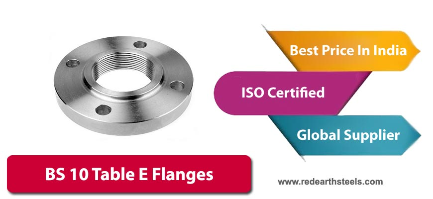 BS10 Table E Flanges