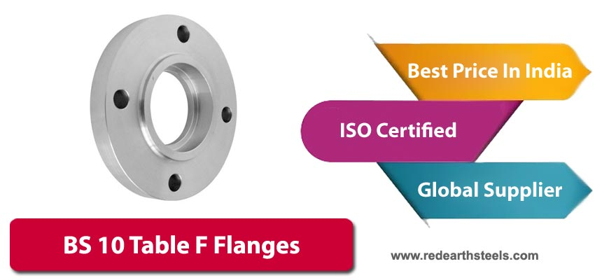 BS10 Table F Flanges