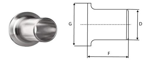 Manufacturer of ASME B 16 9 Buttweld Lap Joint Stub End