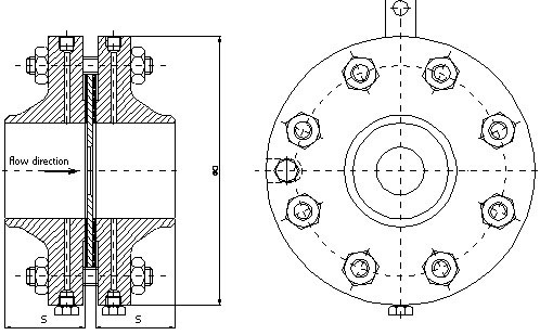 Orifice Flange dimensions