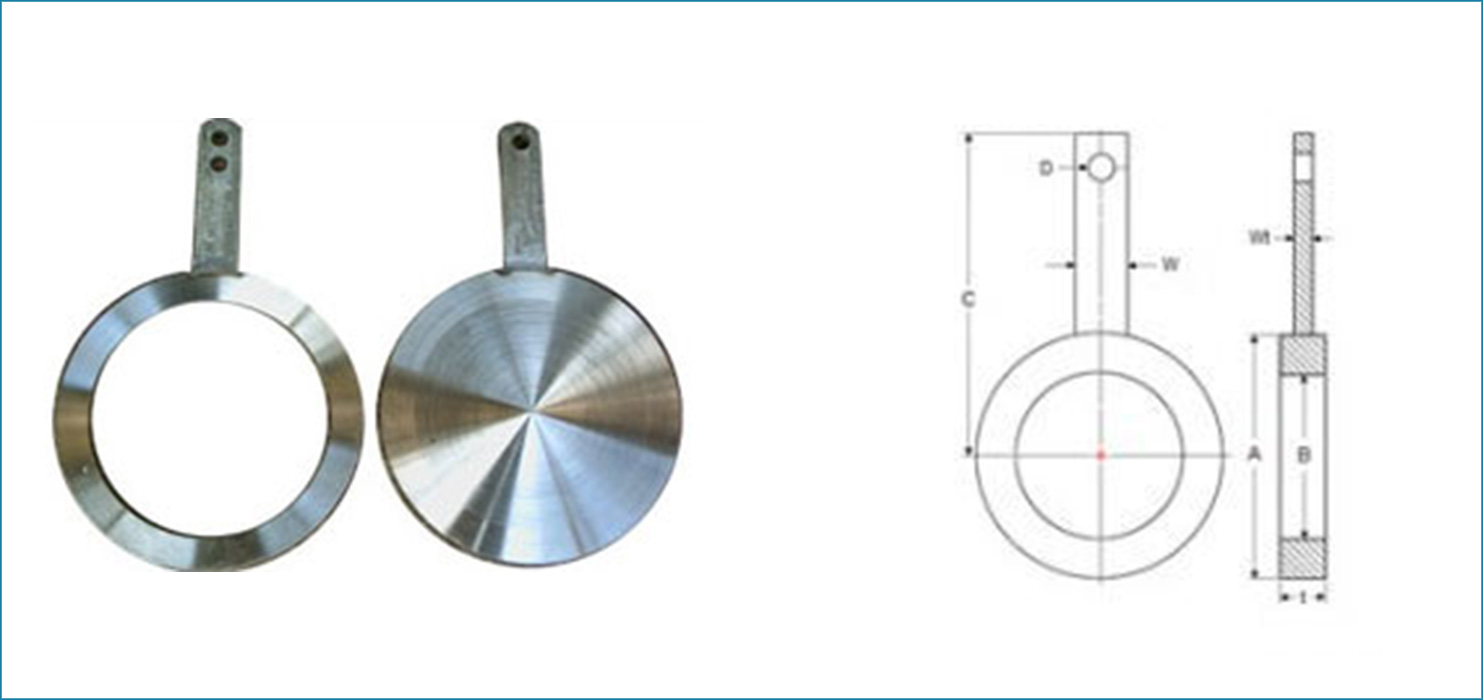 Spade Flanges Dimensions