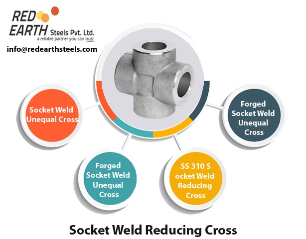 Socket Weld Reducing Cross